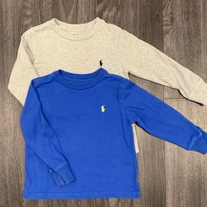Long sleeve Polo toddler boy t shirts